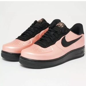 New Nike AF1 Foamposite Coral